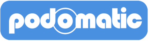 Large podomatic logo blue