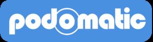 Small podomatic logo blue